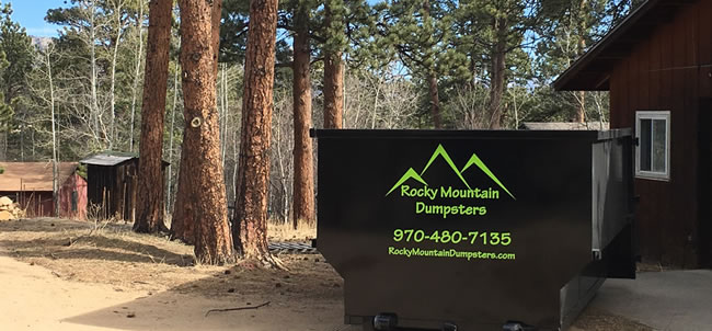 Looking for Dumpster Rental - Estes Park? Rocky Mountain Dumpsters is your Best Choice for Estes Park Dumpster Rentals!